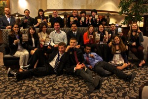 Bellevue DECA had a successful state competition at the Pacific Northwest Career Development Conference in Victoria, BC