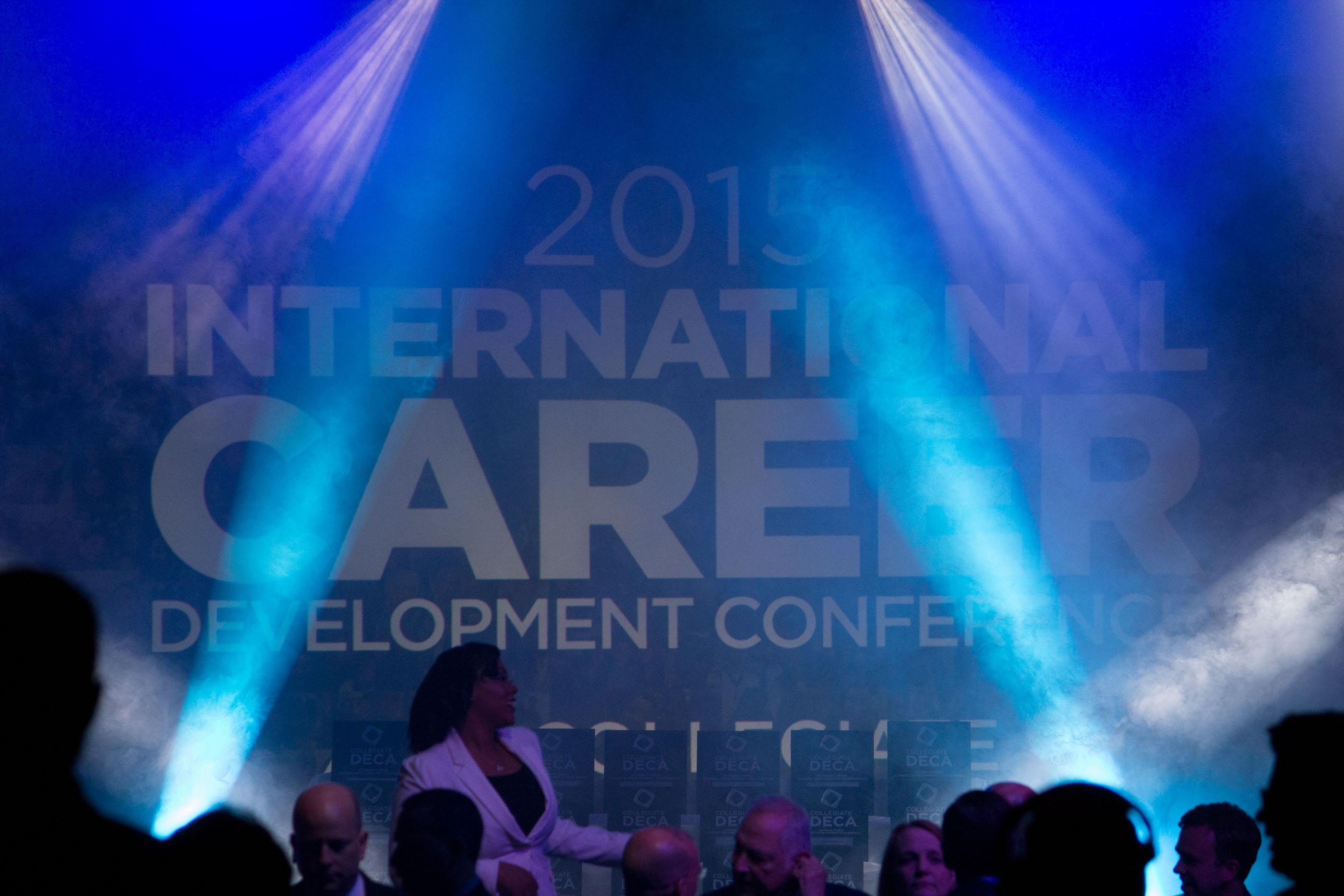 Bellevue DECA at the Collegiate DECA 2015 International Career Development Conference